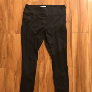Forever 21 Black Workout Pants Womens Size Medium